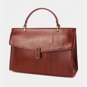 Удобная светло-коричневая женская сумка ATS-3582 211965
