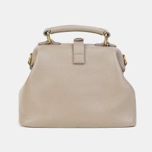 Уникальная бежевая сумка с росписью ATS-3607 211852