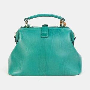 Модная зеленая сумка с росписью ATS-3601 211882