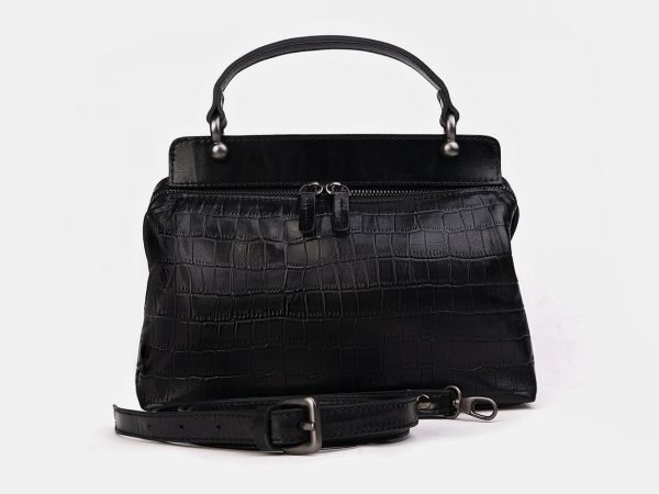 Функциональная черная женская сумка ATS-3431