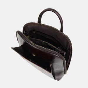 Неповторимый коричневый рюкзак с росписью ATS-3606 211857
