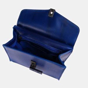 Солидный голубовато-синий женский клатч ATS-3417 212532
