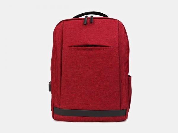 Удобный бордовый рюкзак из пвх ATS-3412