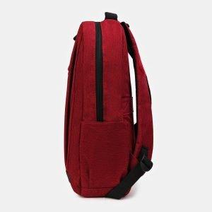 Удобный бордовый рюкзак из пвх ATS-3412 212540