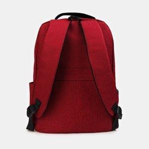 Удобный бордовый рюкзак из пвх ATS-3412 212541