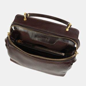 Деловой коричневый женский клатч ATS-3436 212468