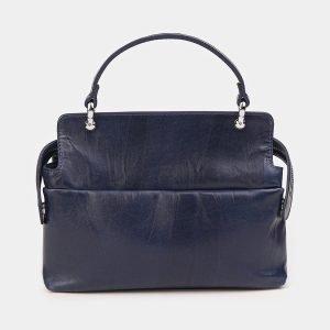 Удобная синяя сумка с росписью ATS-3610 211847