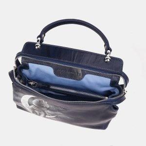 Удобная синяя сумка с росписью ATS-3610 211848