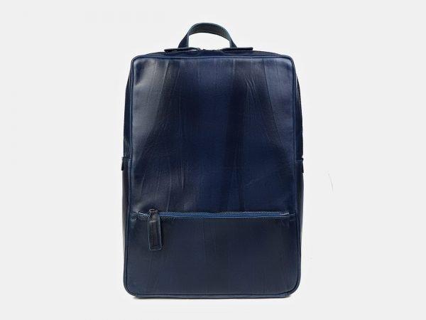 Неповторимый синий рюкзак кожаный ATS-3446