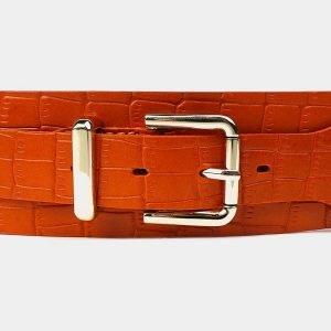 Модный оранжевый женский модельный ремень ATS-3478 212358