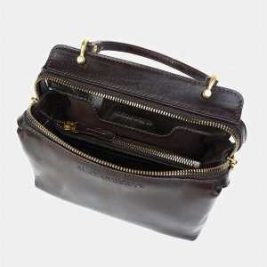 Уникальный коричневый женский клатч ATS-3468 212388