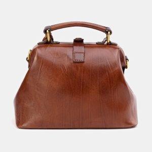 Функциональная светло-коричневая сумка с росписью ATS-3612 211837