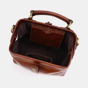 Функциональная светло-коричневая сумка с росписью ATS-3612 211838