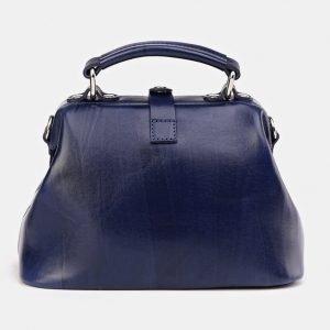 Модная синяя сумка с росписью ATS-3616 211817