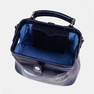 Модная синяя сумка с росписью ATS-3616 211818