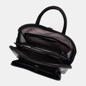 Деловой черный рюкзак с росписью ATS-3621 211793