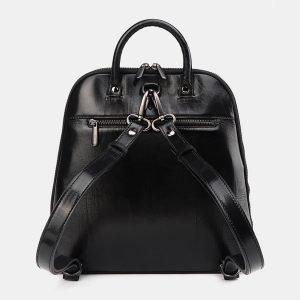 Деловой черный рюкзак с росписью ATS-3621 211794