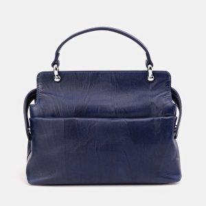 Солидная синяя сумка с росписью ATS-3673 211649