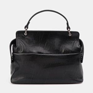 Неповторимая черная сумка с росписью ATS-3674 211644