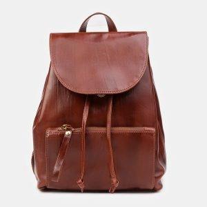 Уникальный светло-коричневый рюкзак кожаный ATS-3485