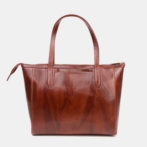 Модная светло-коричневая женская сумка ATS-3488 212324