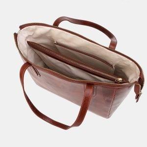Модная светло-коричневая женская сумка ATS-3488 212325