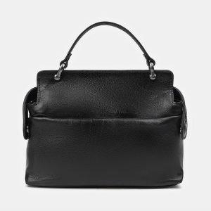 Уникальная черная сумка с росписью ATS-3519 212220