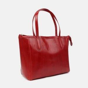 Стильная красная женская сумка ATS-3515 212229