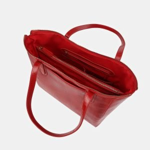 Стильная красная женская сумка ATS-3515 212231