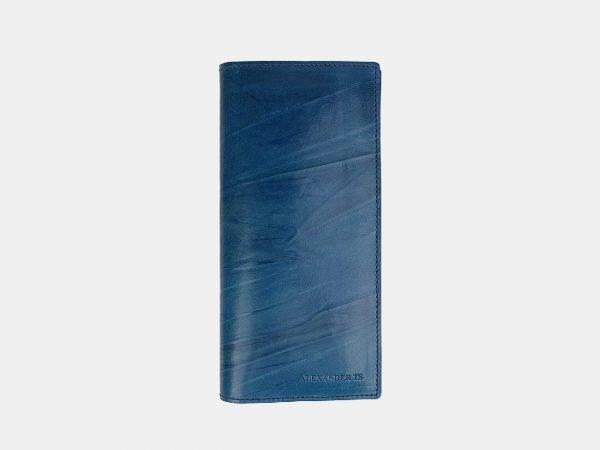 Уникальный зеленовато-голубой кошелек ATS-3517