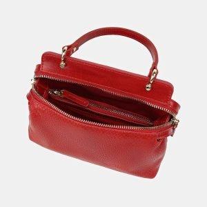 Деловой красный женский клатч ATS-3526 212196