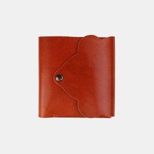 Кожаный оранжевый кошелек ATS-3530