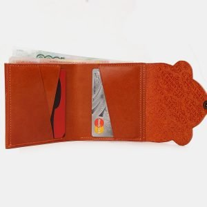 Стильный оранжевый кошелек ATS-3530 212176