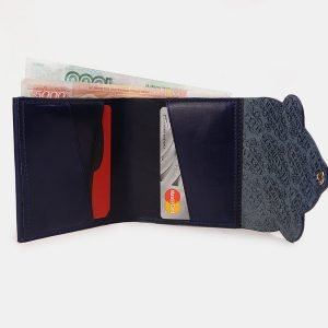 Стильный синий кошелек ATS-3531 212171