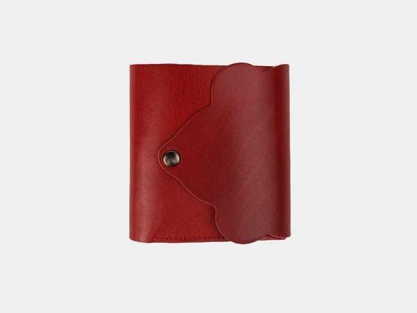 Стильный красный кошелек ATS-3532