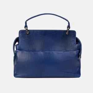 Модная голубовато-синяя сумка с росписью ATS-3539 212136