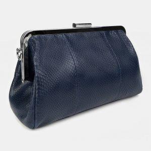 Вместительный синий женский клатч ATS-3481 212343