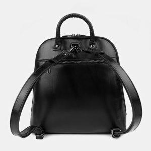 Удобный черный рюкзак с росписью ATS-3399 212603