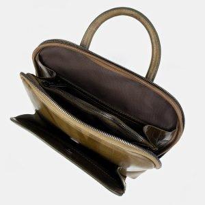 Функциональный желтовато-зелёный рюкзак с росписью ATS-3402 212589