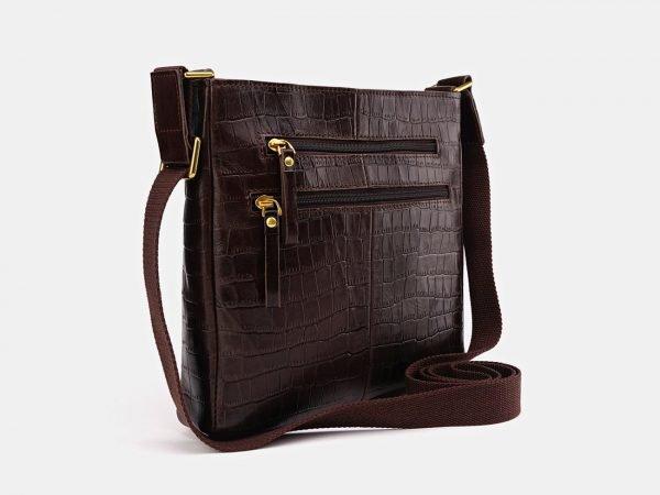 Стильный коричневый мужской планшет ATS-3661