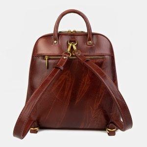 Деловой светло-коричневый рюкзак с росписью ATS-3405 212573