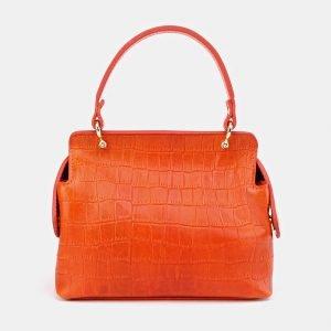 Удобный оранжевый женский клатч ATS-3653 211748