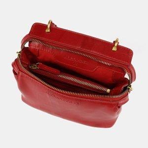 Стильный красный женский клатч ATS-3654 211744