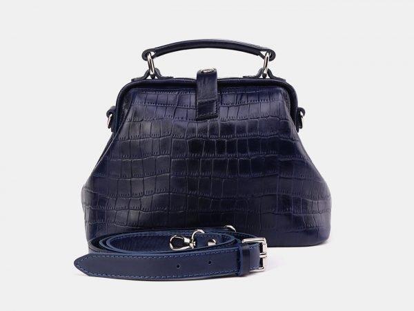 Вместительная синяя женская сумка ATS-3658