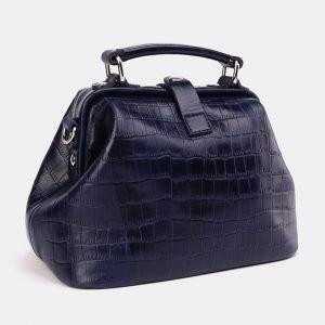 Вместительная синяя женская сумка ATS-3658 211722