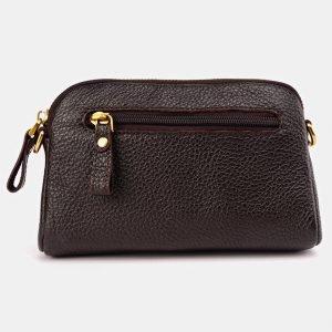 Функциональный коричневый женский клатч ATS-3646 211778