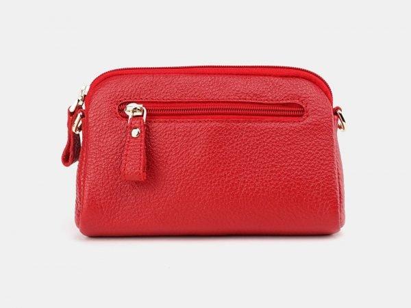 Деловой красный женский клатч ATS-3651