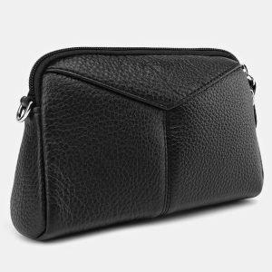 Удобный черный женский клатч ATS-3652 211752