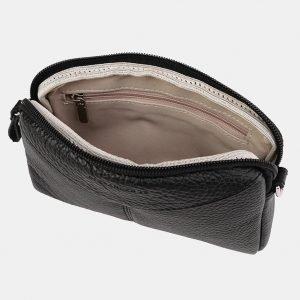 Удобный черный женский клатч ATS-3652 211754