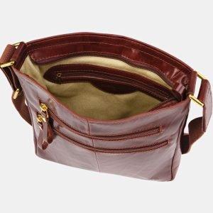 Кожаный светло-коричневый мужской планшет ATS-3682 211610